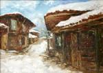 Ласкова Т. Зимний пейзаж х.м. 50х 70 2011