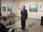 Ст. Айдинян на выставке А.А. Громыко