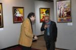Ст. Айдинян и художник Азат Азатян