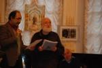 Ст. Айдинян и Рейдерман в Лит. музее Одессы