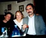 Художник Юрий Кулиш, графиня Галина Ланская и Ст.Айдинян 1999г