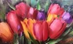 тюльпаны 50х80