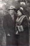 Артур Айдинян и Лилия Гладкова, 1954