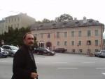 Станислав у дома Моцарта в Зальцбурге