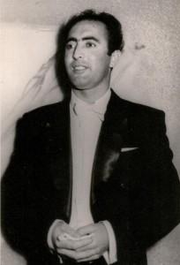Артур Айдинян, начало 1950-х